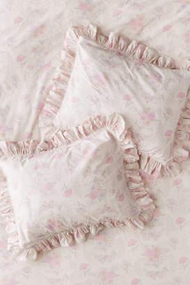 Urban Outfitters Marisa Floral Ruffle Sham Set