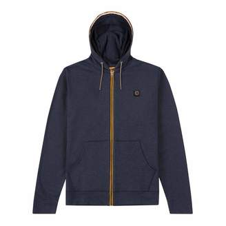 Navy Sereno Zip Hoody Sweater