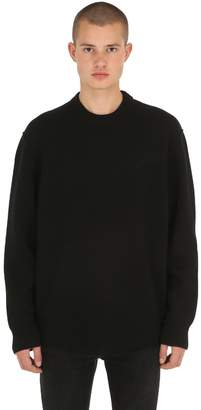 AllSaints Maine Crew Merino Wool Sweater