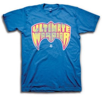 WWE Men's Ultimate Warrrior Graphic Tee