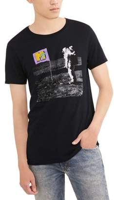 Music MTV Astronaut Men's Graphic Tee