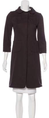 Marni Collared Knee-Length Coat