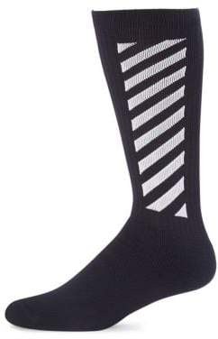 Off-White Wing Off Mid-Calf Socks