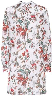 McQ Floral-printed minidress