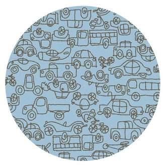 notNeutral Kids Transport Ozone Blue/Sable Area Rug Rug