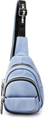 Like Dreams Alex Faux Leather Crossbody Backpack