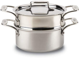 All-Clad Brushed D5 Casserole with Steamer