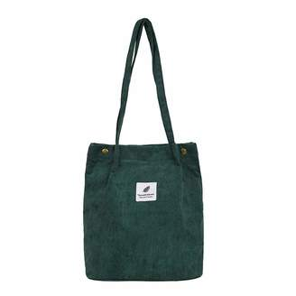 19bbf001250b Cactus Casual Large Capacity Corduroy Shopping Shoulder Bag Women Travel Tote  Handbag