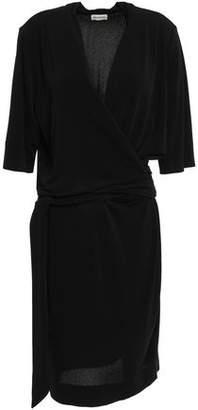 By Malene Birger Qizi Wrap-effect Stretch-crepe Dress