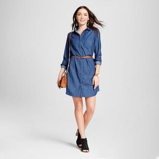 Merona Women's Denim Shirt dress $29.99 thestylecure.com