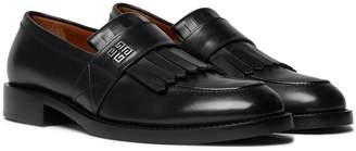 Givenchy Cruz Leather Kiltie Loafers