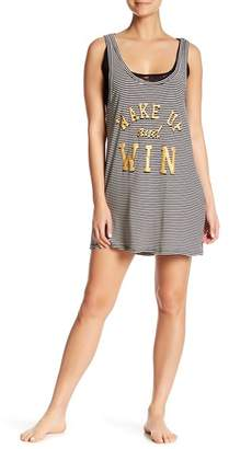 Couture Curvy Wake Up & Win Lace Underlay Sleep Tank Dress