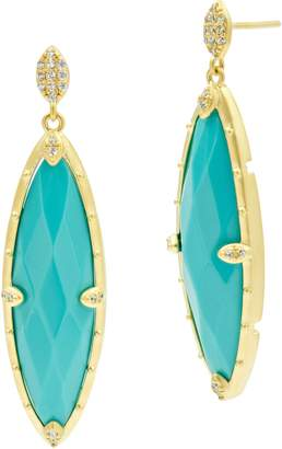 Freida Rothman Color Theory Marquise Drop Earrings