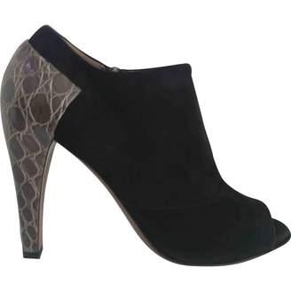 Alaia Open toe boots