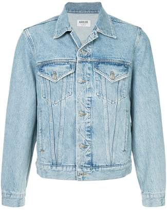 A Gold E Agolde Preston denim jacket