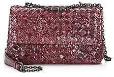 f2dc2fa9fa Bottega Veneta Women s Ayers Snakeskin Crossbody Bag