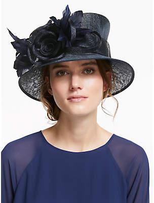 24d24d12fbb50 John Lewis   Partners Lou Side Up Disc Rose Ornament Occasion Hat