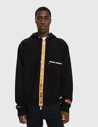 Heron Preston Handle Zip Hooded Sweatshirt