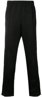 MSGM elasticated waist track pants