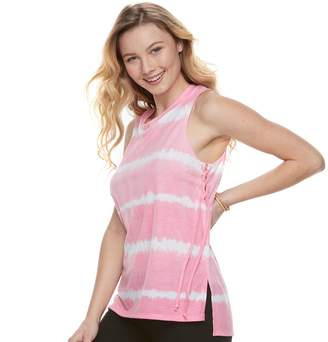 So Juniors' SO Lace-Up Side Tank