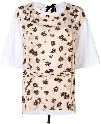 Marni floral front T-shirt