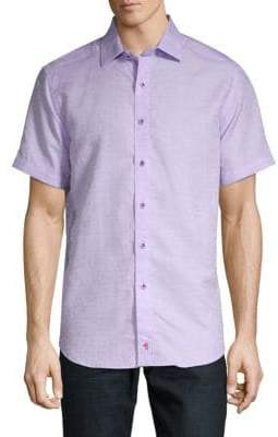 Robert Graham Cyprus Short-Sleeve Button-Down Shirt