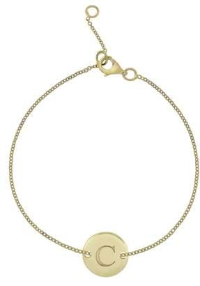Bony Levy 14k Gold Initial Bracelet