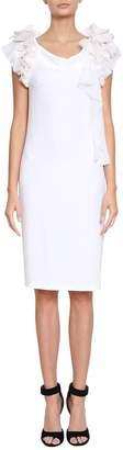 Givenchy Ruffled Jersey Dress