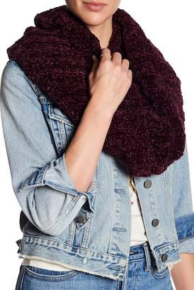 Free People Love Bug Chenille Twisted Infinity Scarf