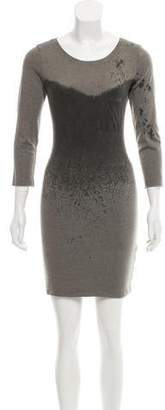 Raquel Allegra Long Sleeve Knit Dress