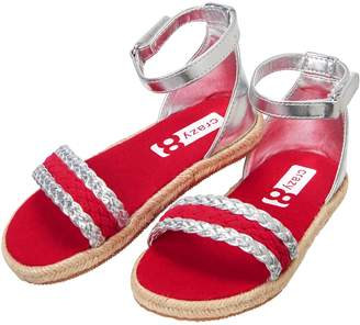 Crazy 8 Crazy8 Metallic Espadrille Sandals