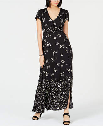 Bar III Floral-Print Empire-Waist Dress