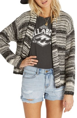 Billabong Over the Moon Stripe Cardigan $59.95 thestylecure.com