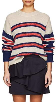 Etoile Isabel Marant Women's Russel Striped Mohair-Blend Sweater