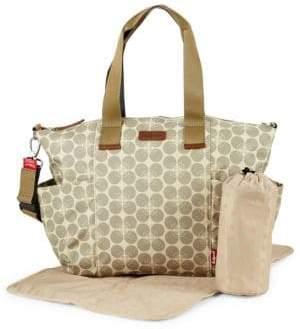 Babymel Evie Floral Canvas Handbag