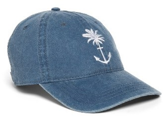 Women's O'Neill Bliss Embroidered Ball Cap - Blue $22 thestylecure.com