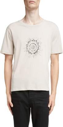 Saint Laurent Imprime Graphic T-Shirt