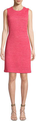 St. John Beti Sleeveless Knit Sheath Dress
