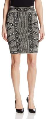 BCBGMAXAZRIA Women's Josa Knit Pencil Skirt