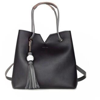 f1fc7bc5fb Pixie Mood JASMINE BAG WITH MARBLE TASSEL - BLACK