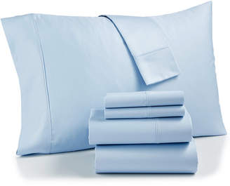 Aq Textiles Bradford StayFit 6-Pc. Queen Sheet Set, 800 Thread Count Combed Cotton Blend Bedding