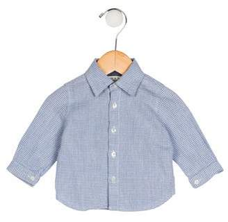 Babe & Tess Boys' Collared Button-Up Shirt
