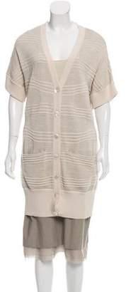 Peter Som Wool-Blend Knee-Length Skirt Set w/ Tags