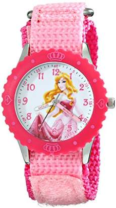 Disney Kids' W001920 Princess Analog Display Analog Quartz Watch