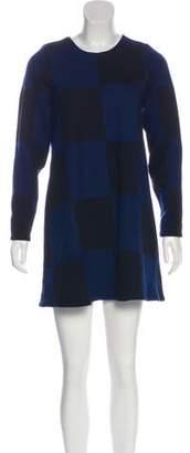 Marc by Marc Jacobs Long Sleeve Mini Dress