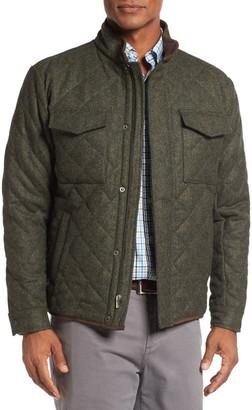 Peter Millar Millburn Shetland Quilted Jacket $245 thestylecure.com
