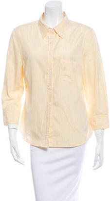 Boy. by Band of Outsiders Striped Button-Up Top $60 thestylecure.com