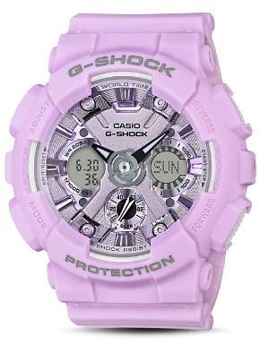 G-Shock S Series Purple Watch, 45.9mm