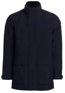 Ermenegildo Zegna Layered Zip-Front Jacket