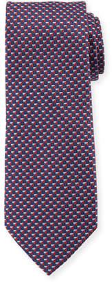 Giorgio Armani V Box Silk Tie, Red